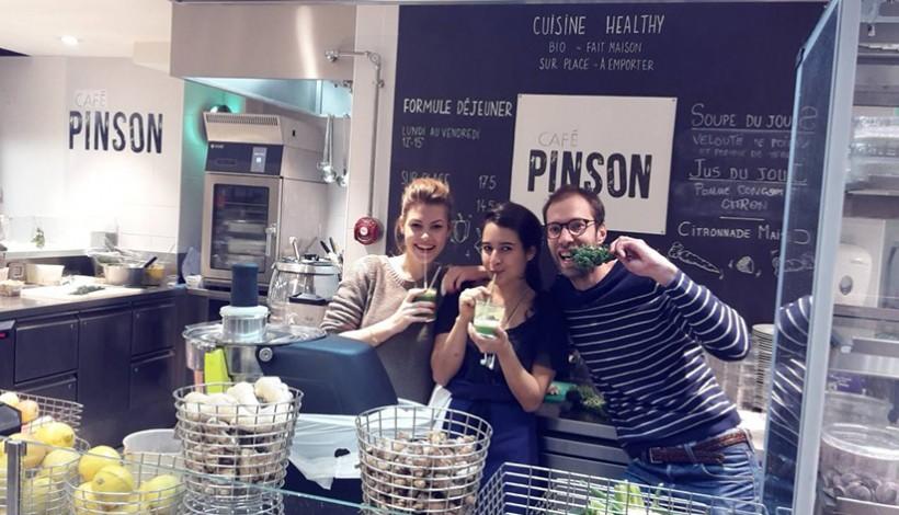 CAFE PINSON 3ème