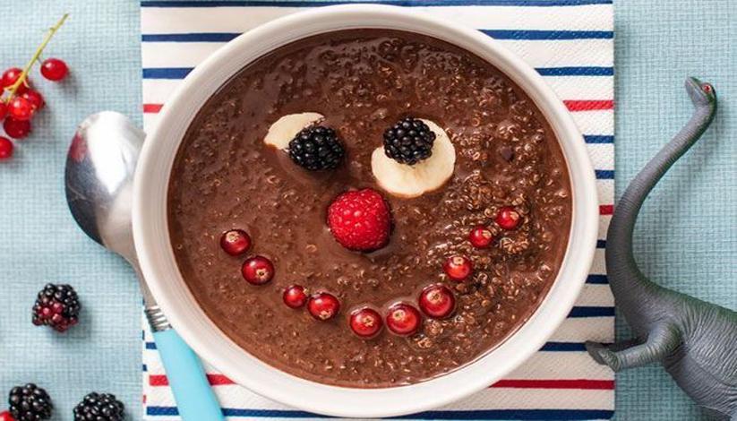 Quinoa au chocolat, façon riz au lait