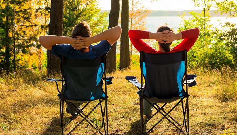 Camping écolo, mais confort !